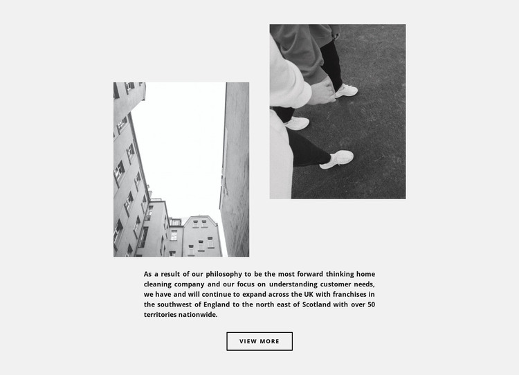 Comfortable street style HTML Template