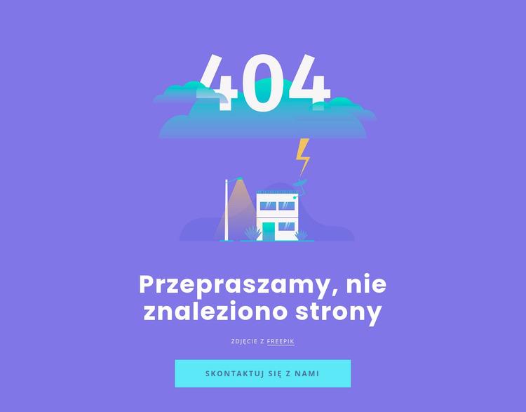404 nie znaleziono wiadomości Szablon Joomla