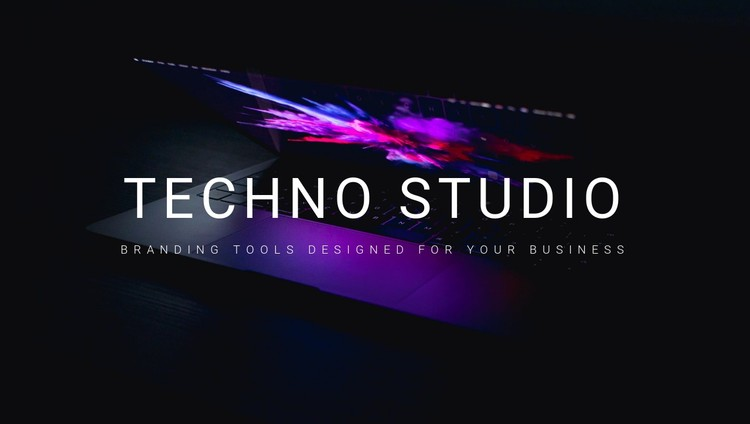 Welcome to techno studio CSS Template