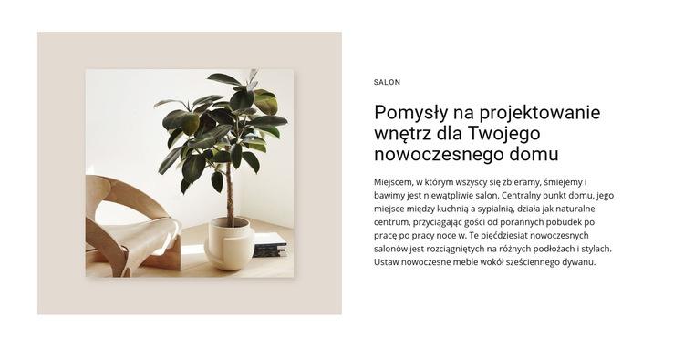 Wysokiej klasy projekty mieszkaniowe Szablon witryny sieci Web