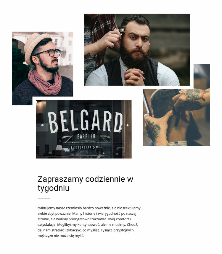 Belgard barbier Szablon Joomla