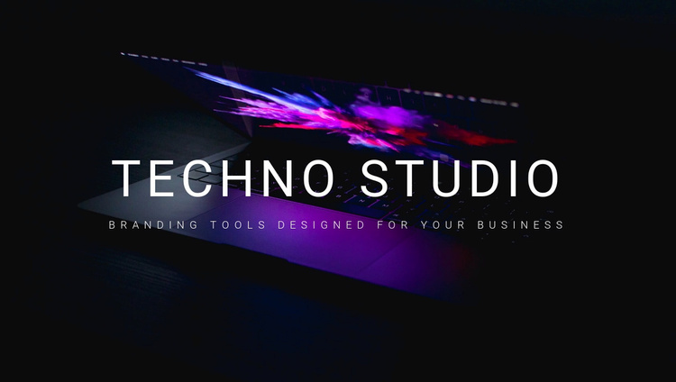 Welcome to techno studio Website Template