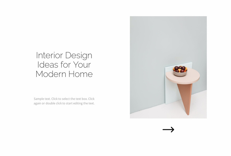 For home with love Website Template