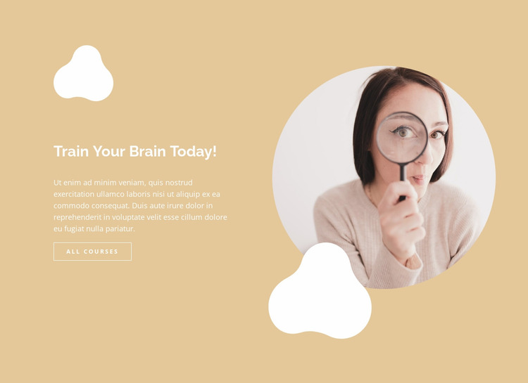 Fast and easy learning Website Mockup