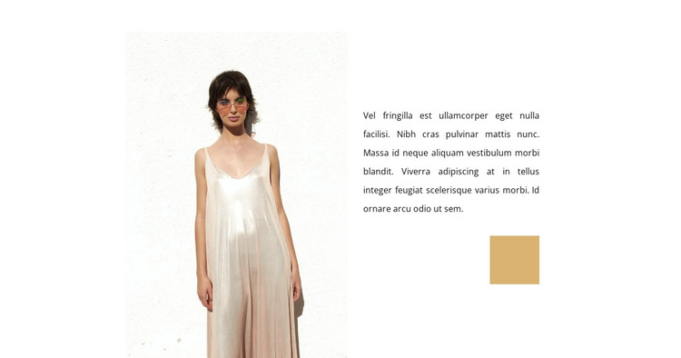Cocktail Dresses HTML Template