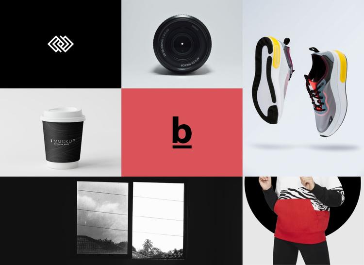 Branding and design gallery  Joomla Template