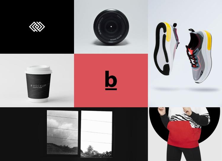 Galeria brandingu i designu Szablon Joomla