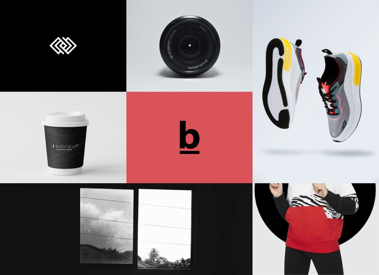 Branding and design gallery  Template