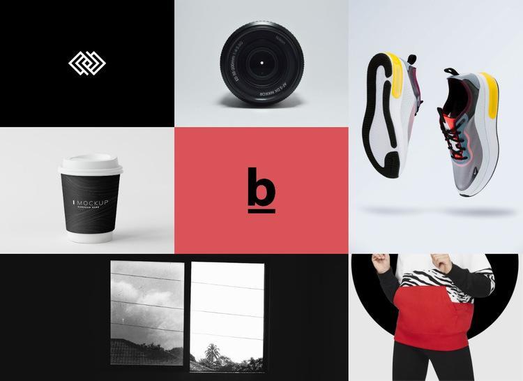 Branding and design gallery  Website Builder