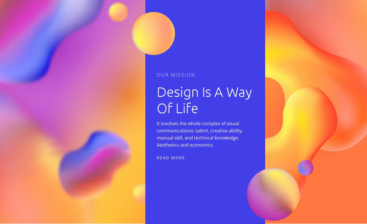 Creative art and design Website Builder