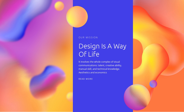 We create digital experiences Website Builder Software