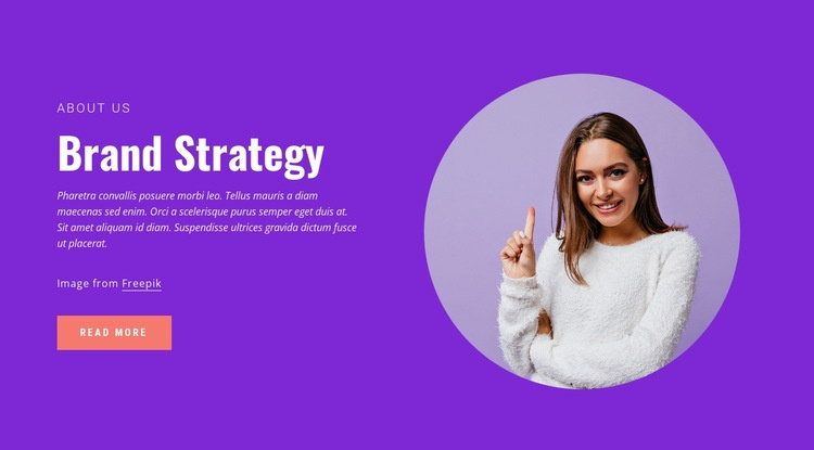 We help shape your brand identity Web Page Designer