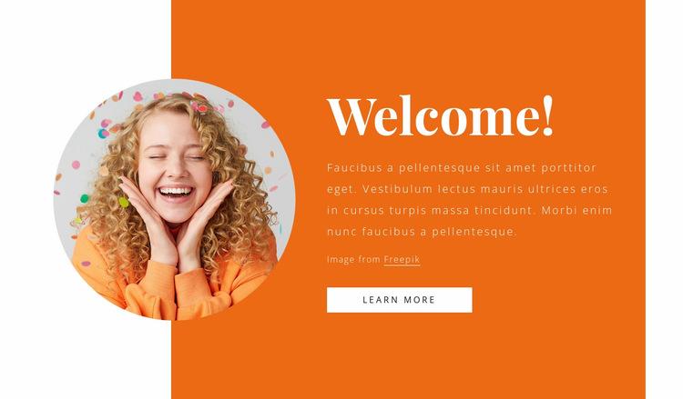 New event agency Website Builder Templates