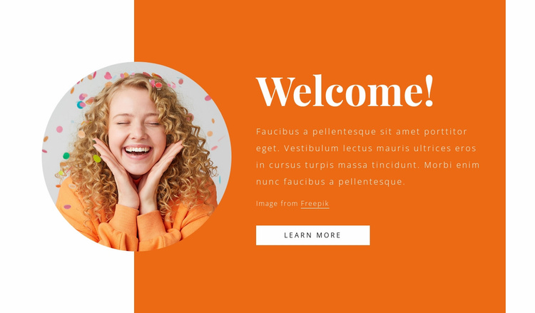 New event agency Website Template