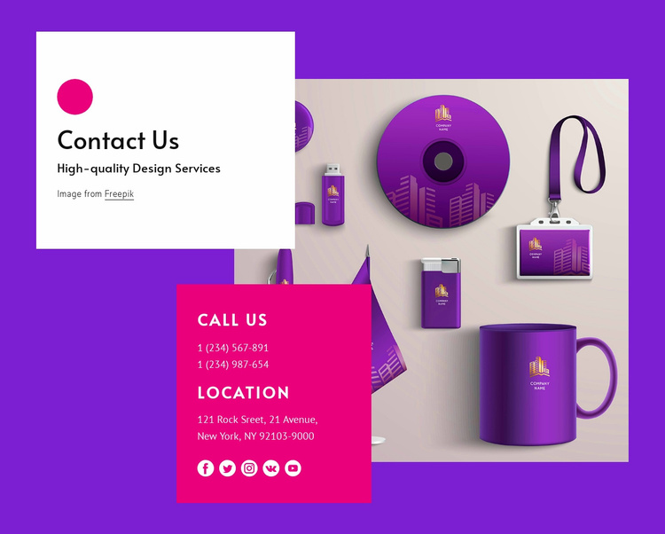 Who would you like to contact Website Template
