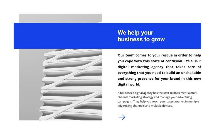 Successful business Web Page Designer