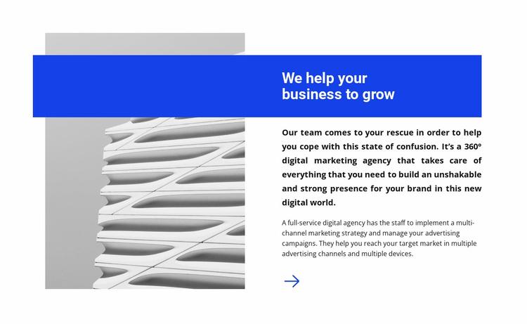 Successful business Website Template