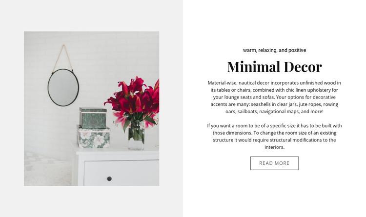 Best room decor HTML Template