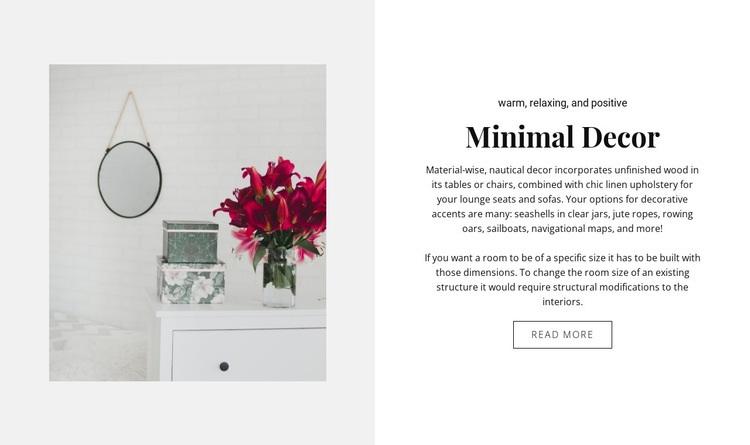 Best room decor Web Page Designer