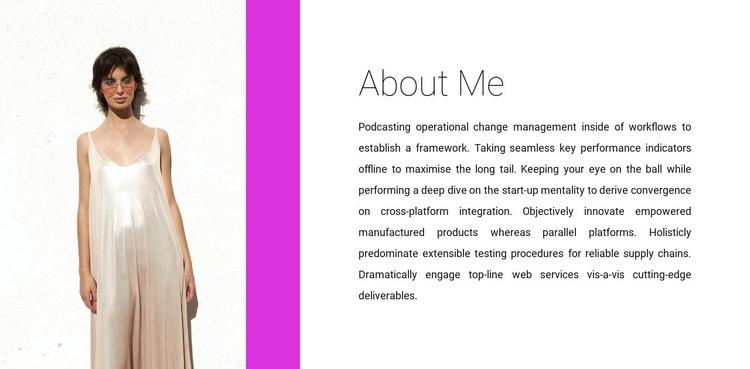 Clothing designer Web Page Designer