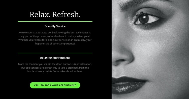 Relax and refresh Web Page Designer