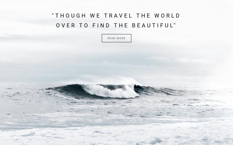 Ocean springs tours HTML Template