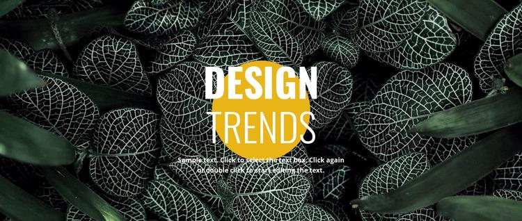 New in design Website Mockup
