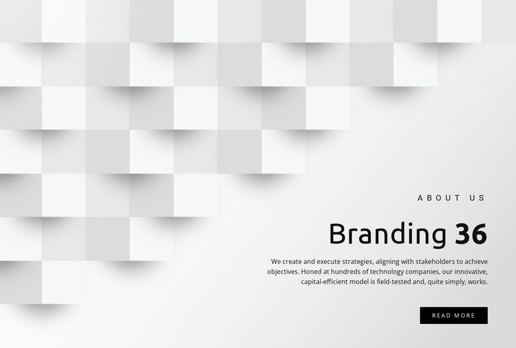 Management and branding CSS Template