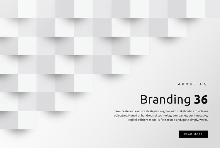 Branding and design services Joomla Page Builder