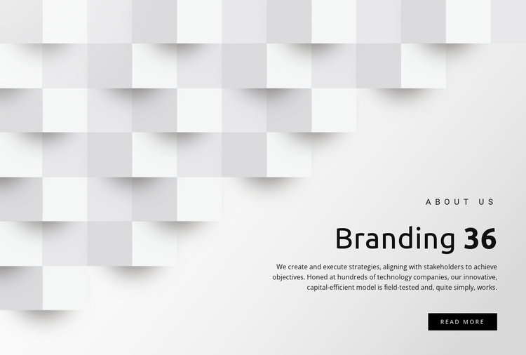 Management and branding Website Template