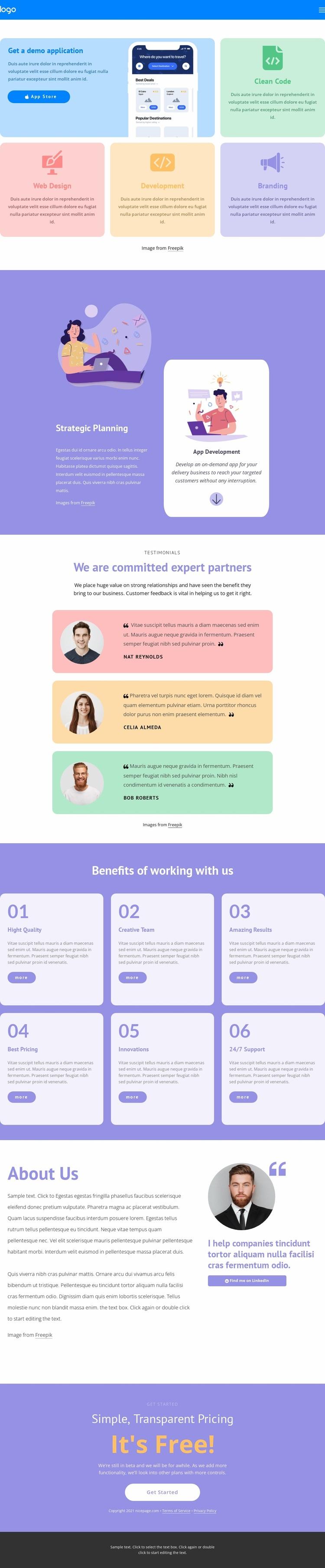 Fast development Website Design