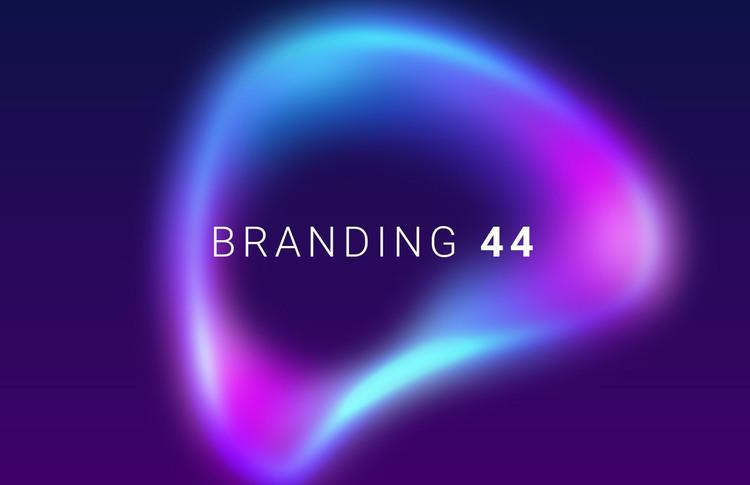 Branding innovation agency Homepage Design