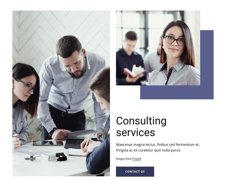 Marketing, organization, operations Web Design