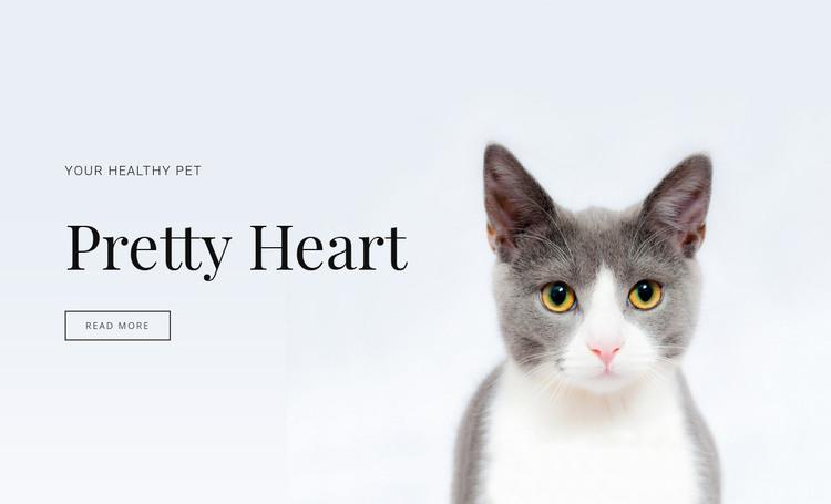 Domestic animals care HTML Template