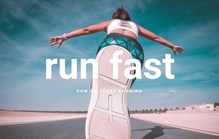 CrossFit athletes Website Template