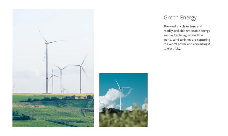 Green Energy HTML Template
