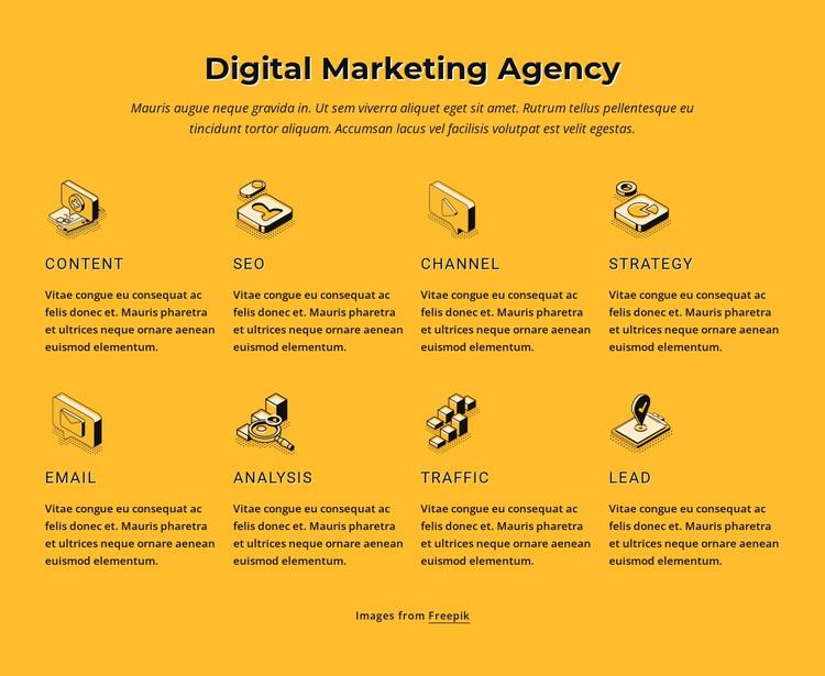 Internet marketing agency Joomla Page Builder