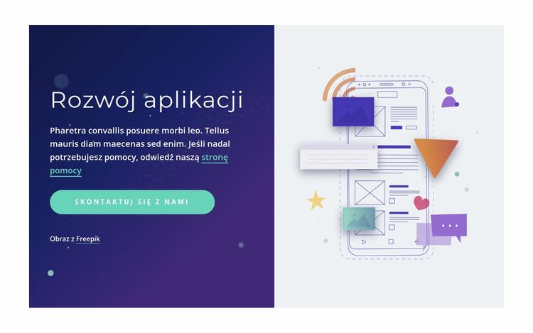 Profesjonalne tworzenie aplikacji Szablon Joomla