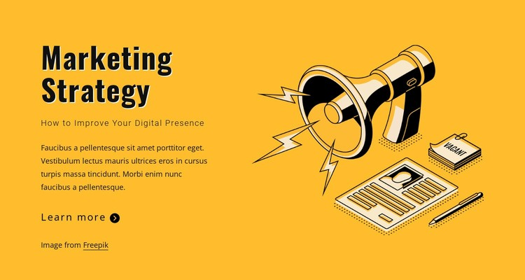 State your marketing goals Wysiwyg Editor Html
