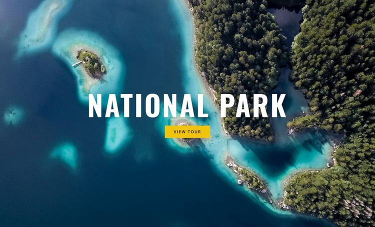 National park Website Template