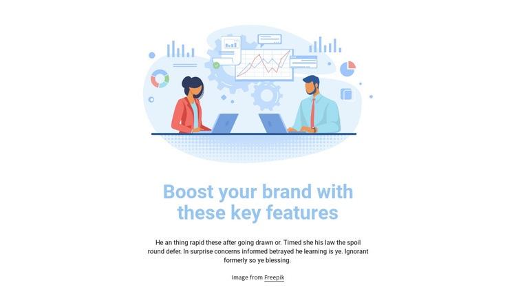 Business illustration Web Page Designer