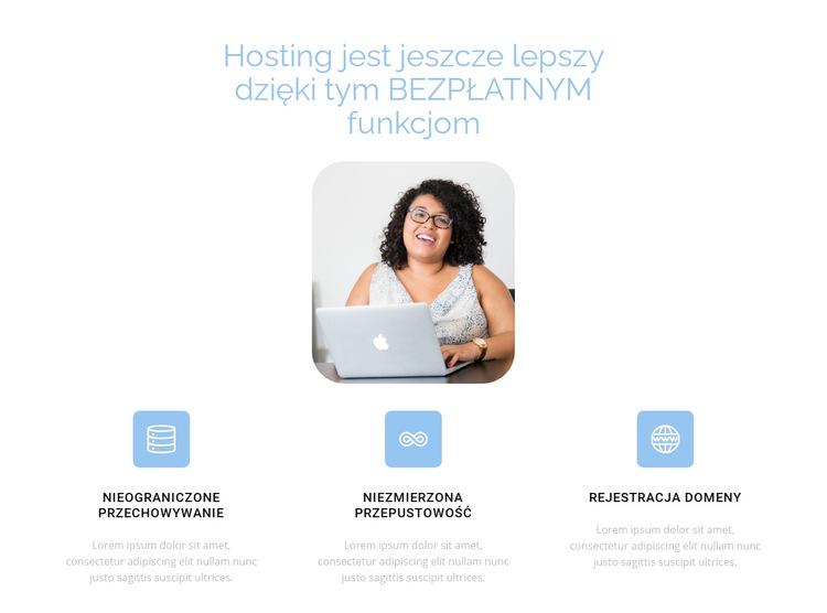 Najlepszy hosting Szablon witryny sieci Web