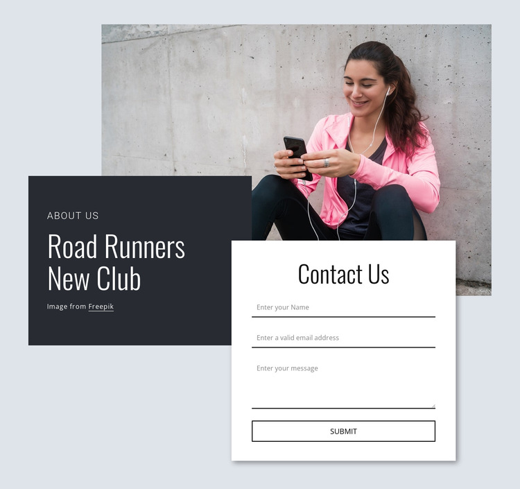 Road runners HTML5 Template