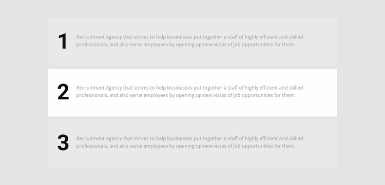 Three steps on the way Website Template