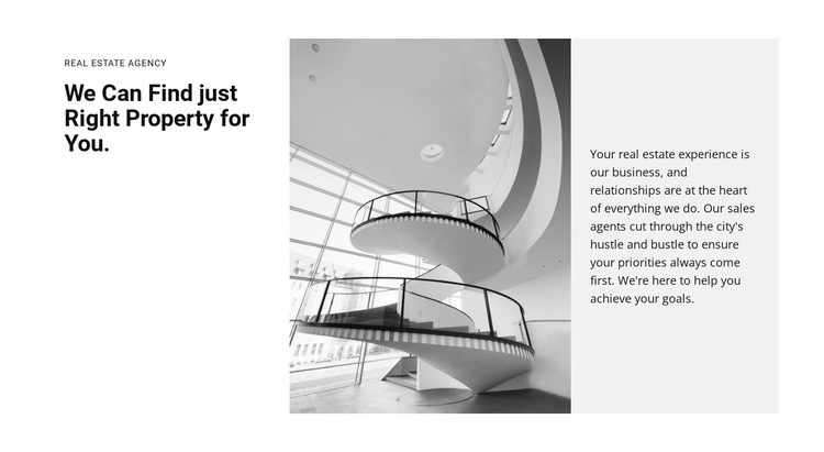 Hall for business conference Website Template