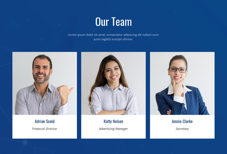 We are researchers and designers One Page Template