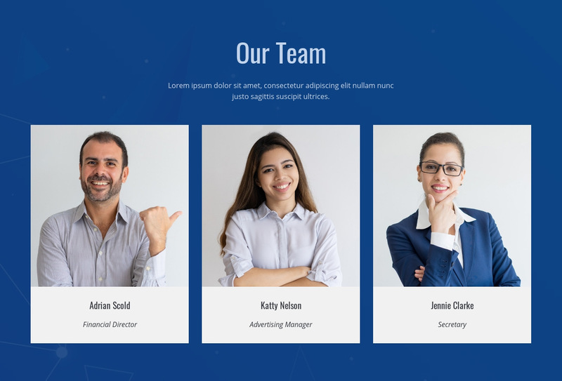 We are researchers and designers Web Page Designer