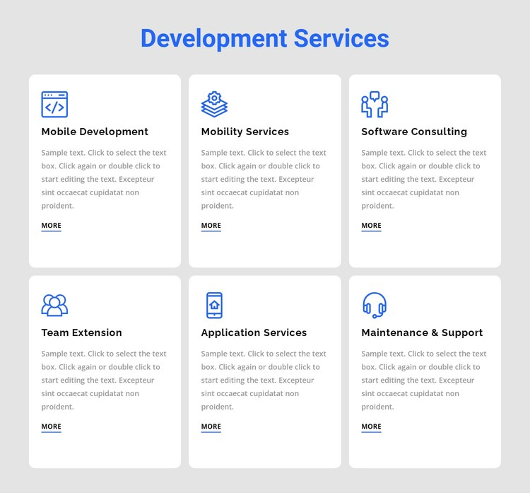 Development services Static Site Generator