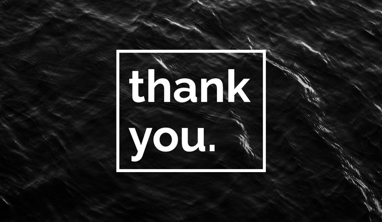 Thank you CSS Template