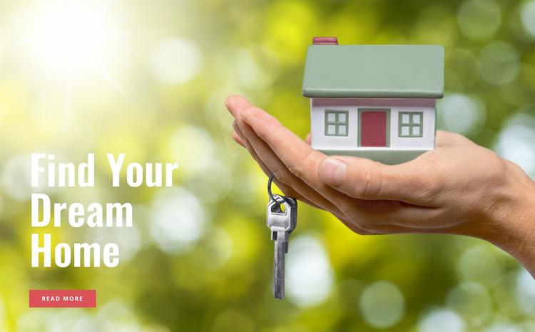 Neighborhood to call home Html Website Builder